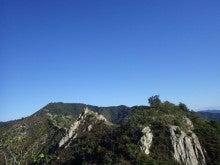 安神山から振り返り
