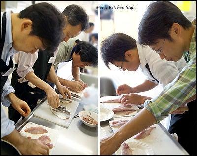 男子料理教室 メンズキッチン 福本陽子