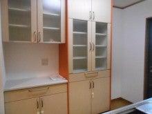 キッチン、食器棚