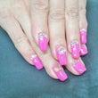 ピンク&キラキラスト…