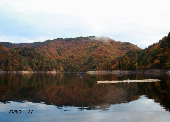 風景写真 モーニングカヌー