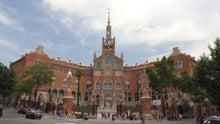 バルセロナ サンパウ病院1