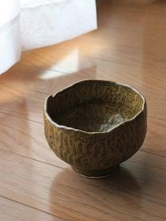 自作の抹茶碗