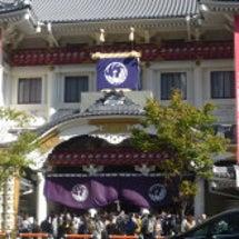歌舞伎座・初日