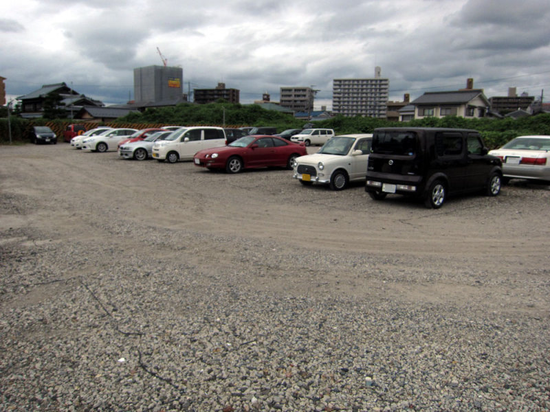 上条城/④駐車場