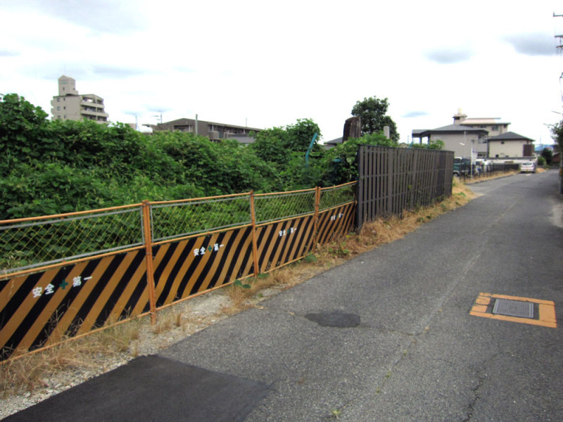 上条城/①フェンス