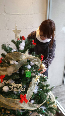 indexhair インデックス 亀戸 美容室 クリスマス