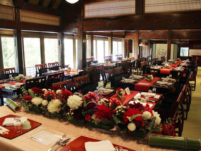 日本家屋,会場装花,和風,純日本風