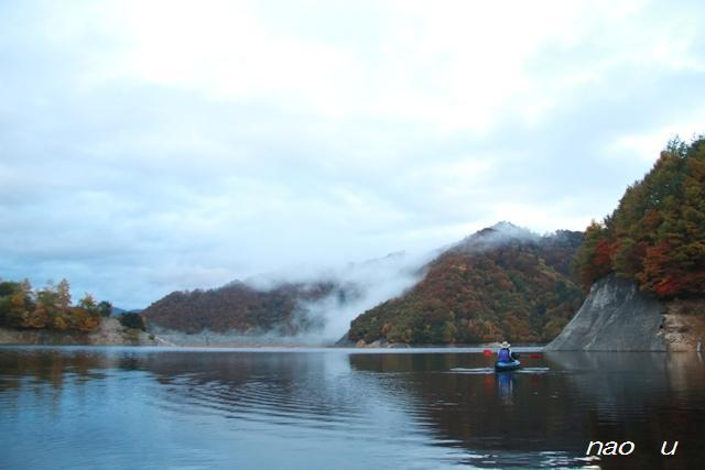風景写真  カヌー 写真  モーニングカヌー