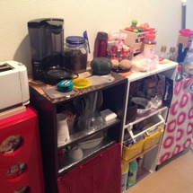 キッチン改造計画進行…