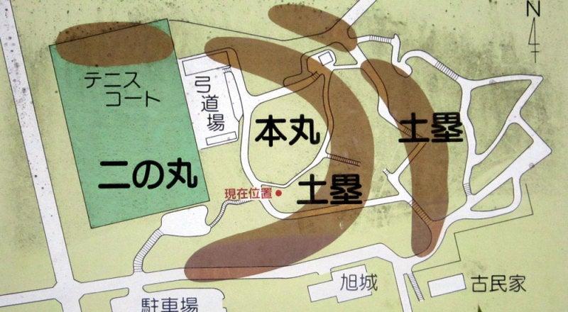 新居城/①案内図