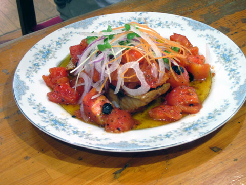 サバのトマト煮