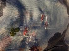金魚の刺繍