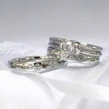 沖縄ミンサー柄結婚指輪2