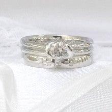 沖縄ミンサー柄結婚指輪3