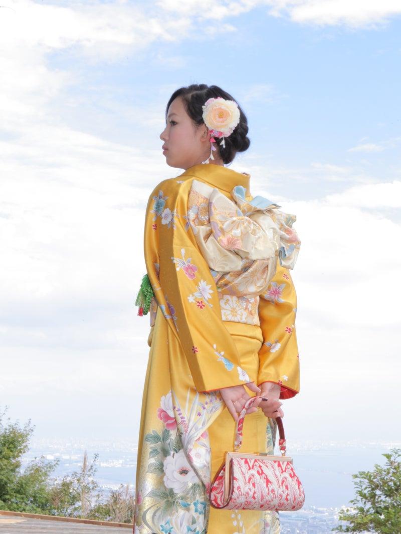 神戸で成人式の前撮り