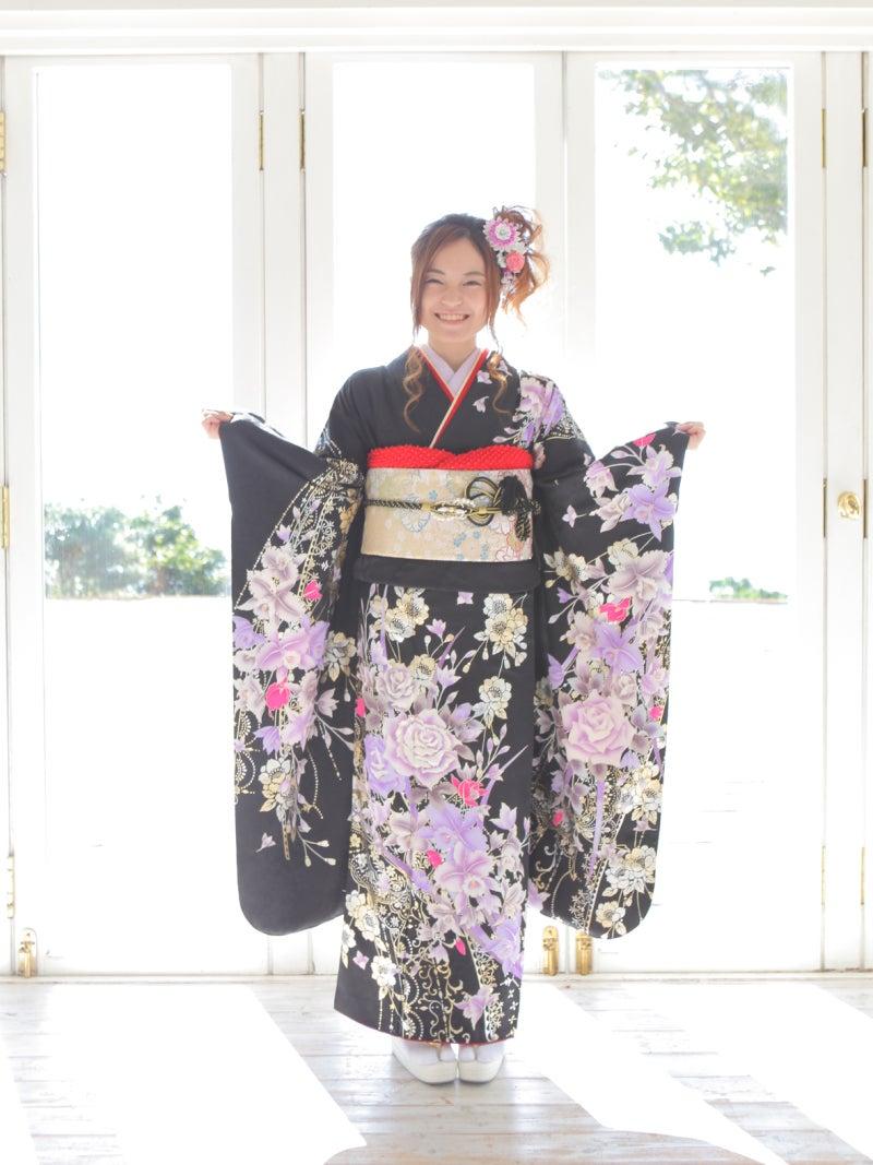 神戸市北区の成人式の着付け前撮り