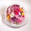 記念のお花の保存加工…