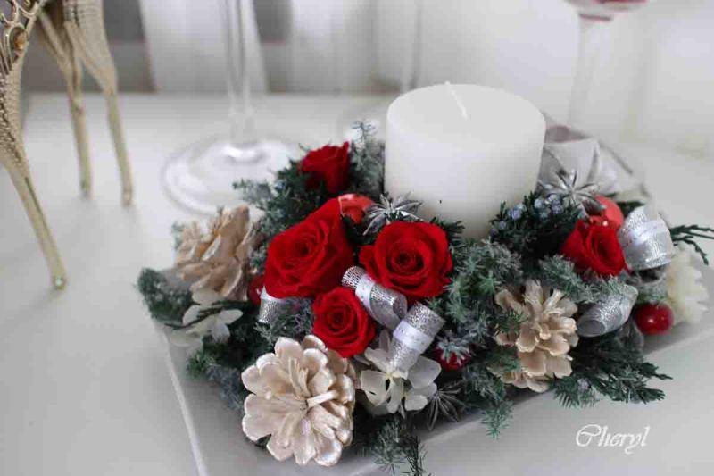 バンコク プリザーブドフラワークリスマス