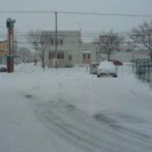 雪が・・(>_<)…