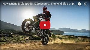 New Ducati Multistrada 1200 Enduro MOVIE 2016