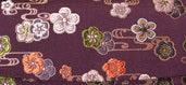 西陣織和財布「流水に梅」柄