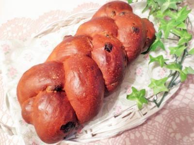 赤ワインとサルタナレーズンのパン