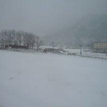 冬になりました!