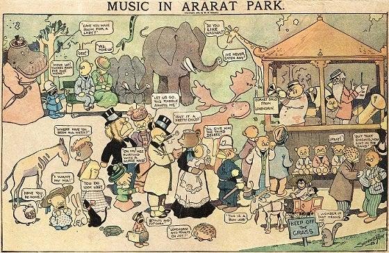 Music in Ararat Park 1