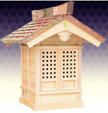 木曽製の地蔵堂