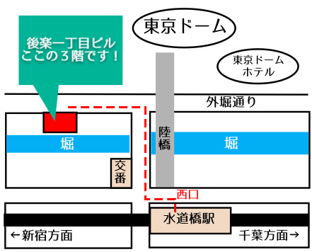 東京ヒーマー地図