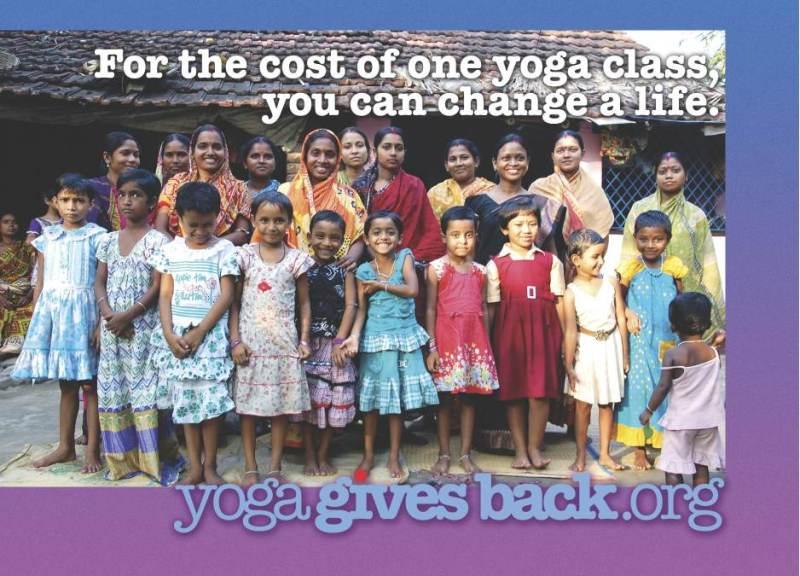 yoga gives back 大阪