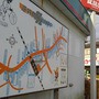 逆井商店会MAP り…