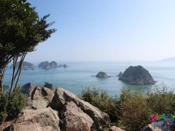 韓国旅行、慶尚南道、巨済市、展望台