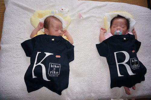 双子Tシャツ