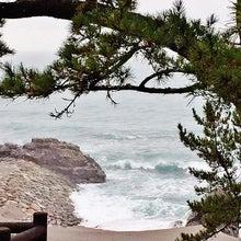 竜馬も眺めた桂浜の海岸