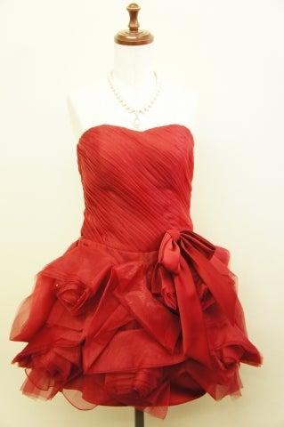 赤ドレスレンタル
