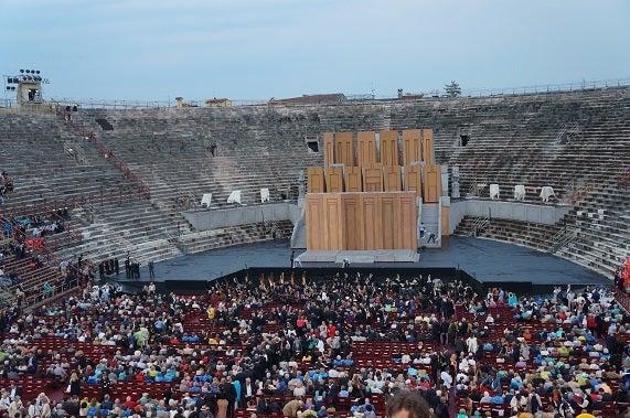 ベローナ野外オペラ アリーナコンサート