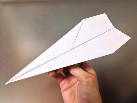 飛行機 折り紙 よく飛ぶ紙飛行機 折り紙 : ameblo.jp