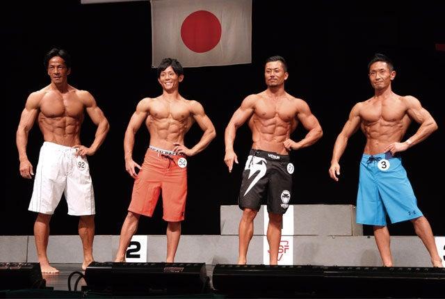 第一回日本 メンズフィジーク選手権 優勝