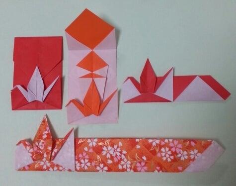 ハート 折り紙 折り紙 お祝い : ameblo.jp