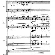 オーケストラの譜面を…