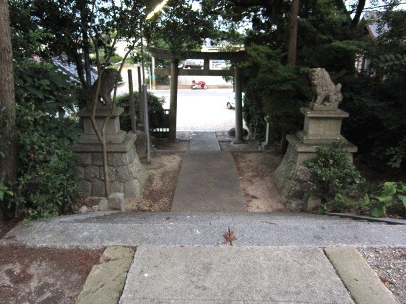 富貴城②参道を見下ろす