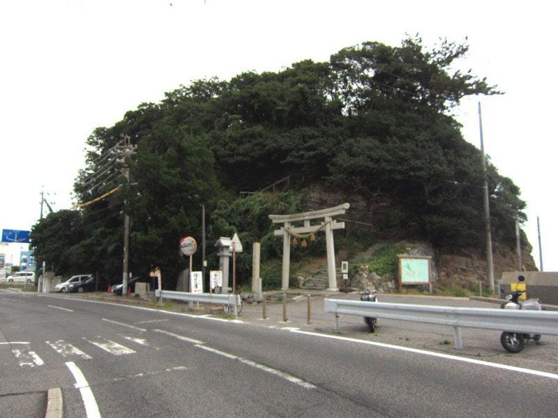 幡豆崎城①登城口