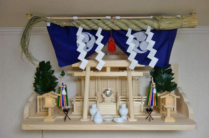 神棚フルセットを福岡県久留米市で設置.jpg