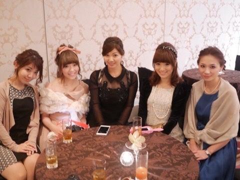 松蔭時代の友人の結婚式♡