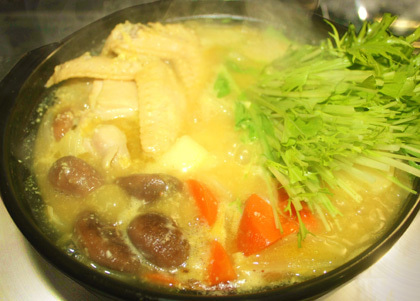カレー野菜鍋1