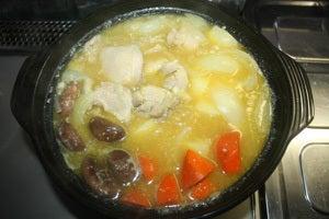 カレー野菜鍋8