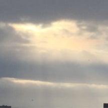 1月2日の朝の空