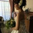 花嫁の美しいウェディ…